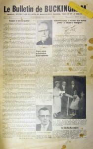 Bulletin de Buckingham 000Page 1