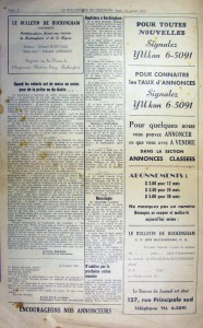 Bulletin de Buckingham 001Page 2