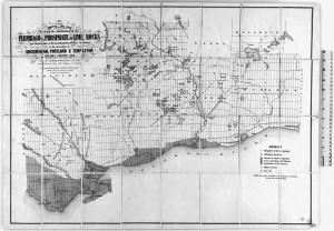 Carte des mines 1875